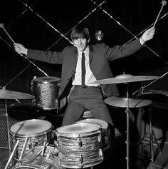 Ringo poses at Wolverhampton's Gaumont Cinema, November 19, 1963.