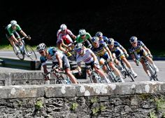 The peloton in action during the 7th stage of the 100th edition of the Tour de France cycling race between Montpellier and Albi, France, on July 5. (Yoan Valat/European Pressphoto Agency)