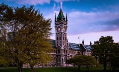 The Clock Tower Building, University of Otago by Bill McPhail on YouPic Tower Building, Big Ben, University, Clock, Architecture, Photography, Travel, Watch, Arquitetura