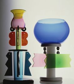 "Modeconnect.com Fashion News – May 22 2014 – ""Fisher-Price hues, bulbous curves, asymmetrical shapes & graphic structural forms"" the revival of 80s Memphis design movement v/@ wallpapermag"