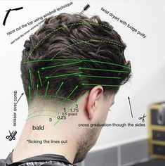 Mens Hairstyles With Beard, Haircuts For Wavy Hair, Hairstyles Haircuts, Classic Mens Hairstyles, Hair Cut Guide, Medium Hair Styles, Short Hair Styles, Hair Cutting Techniques, Gents Hair Style