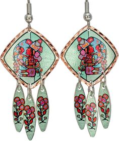 Mother & Child Artist Collection Copper Multiple Earrings