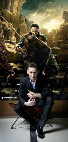 The one, the only...LOKI!!!!  The others are just punters XP