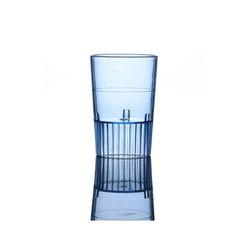 Fineline Settings 4115-BL Blue 1 1/2 oz Plastic Neon Shooters/Case of 500
