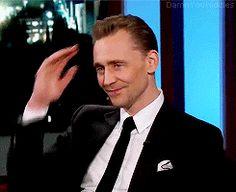 Tom Hiddleston on Jimmy Kimmel Live!, 9th March 2017. Gif-set (by damnyouhiddles): http://maryxglz.tumblr.com/post/158582670857/damnyouhiddlestom-hiddleston-on-jimmy-kimmel