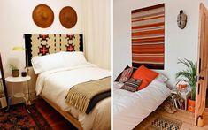 Cabeceros de cama con textiles