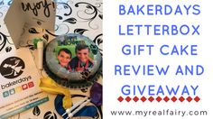 Bakerdays Letterbox Gift Cake Review and Giveaway