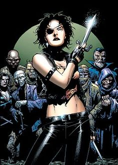 Callisto, leader of the Morlocks.  Art by Jim Cheung.