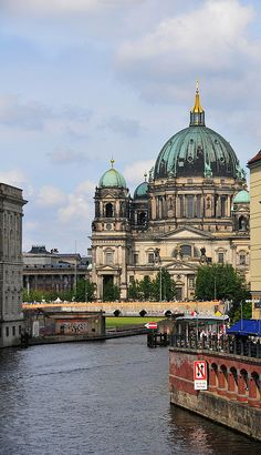 Berlin Germany… my favorite building. The Berliner Dom loved it Places Around The World, The Places Youll Go, Travel Around The World, Great Places, Places To See, Beautiful Places, Around The Worlds, Wanderlust, Berlin Germany