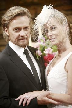 Tucker and Ashley (Y & R) Hey - that's Patch Johnson (Stephen Nichols) and Kristen DiMera (Eileen Davidson) from Days!