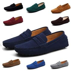 d00e69f4c83 urbanfind new men minimalism driving loafers suede leather moccasins slip  on penny shoes medium (d m) 38 39 40 41 42 43 44 75 76 47 solid resistant  china