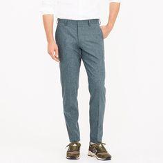 8095d4644dda J.Crew Mens Ludlow Slim Suit Pant In Italian Stretch Wool Flannel (Size  33x30