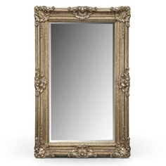 Silver Antique Floor Mirror