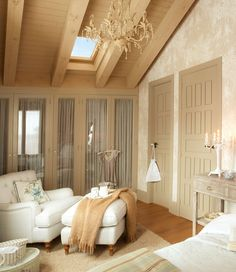 My inner landscape - El Mueble French Apartment, Build A Closet, Cozy Bedroom, Cottage Homes, Beautiful Bedrooms, New Room, House Rooms, House Design, Interior Design