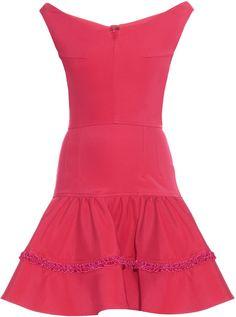 EMILIO DE LA MORENA Off-the-shoulder ruffled mini dress https://api.shopstyle.com/action/apiVisitRetailer?id=515871086&pid=uid2500-37484350-28