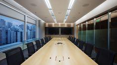 GIC esritório corporativo sala de reunião