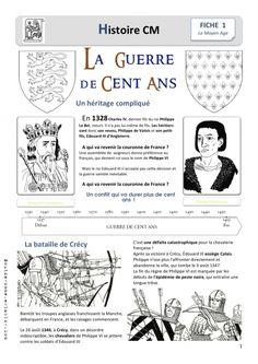La Guerre De Cent Ans C'est Pas Sorcier : guerre, c'est, sorcier, French, History, Ideas, History,