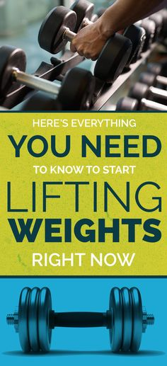 Here's How To Actually Start Lifting Weights #weightligting, #starttoday