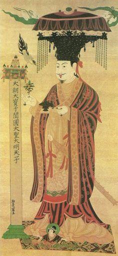 Dunhuang Cave Art - Le-Roi-de-Yutien-grotte-98.jpg