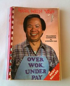 Wok With Yan Cookbook by RetroJunction on Etsy, $6.50