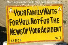Funny Road Signs, The Book, Peeps, Sign Boards, Wisdom, Travel Images, Books, Join, Drop
