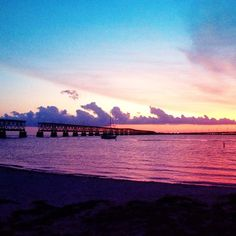 Where was your favorite sunset?  I can't get over the colors from this one in the Florida Keys