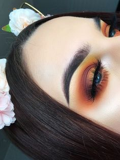 Fall Makeup Makeup In 2019 Eye Makeup Makeup Fall Makeup Makeup Goals, Makeup Inspo, Makeup Art, Makeup Inspiration, Makeup Tips, Beauty Makeup, Hair Beauty, Makeup Style, Drugstore Makeup