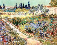 Vincent+van+Gogh+-+The+Garden+at+Arles,+1888