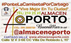 ALMACEN OPORTO: Ponte La Camiseta Por Cartago en la #NavidadOporto