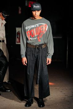 Willy Chavarria Menswear Spring Summer 2018 New York