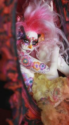 Art doll by - Nicole West Fantasy Art