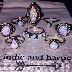 N A V A J O || Opal Rings || Hand crafted by Navajo Artisans and available at www.indieandharper.com