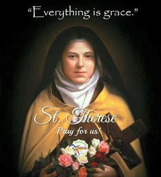 """Saint of the Day #kabataangkatoliko  OCTOBER 1 ST. THERESE OF THE CHILD JESUS Patron of the Missions  Saint Thérèse of Lisieux born Marie Françoise-Thérèse Martin also known as Saint Thérèse of the Child Jesus and the Holy Face O.C.D.  St. Thérèse often called the Little Flower was born in Normandy France in 1873. She was the youngest of the five daughters born to Louis and Zelie Martin. Thérèse was a very lively lovable little girl. Her father called her his """"little queen."""" Yet she could be…"""