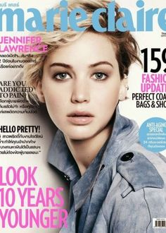 Jennifer Lawrence: Marie Claire Thailand 2014 -02