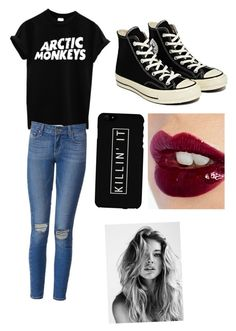 Untitled #5 by jessie2705 on Polyvore featuring polyvore, fashion, style, Paige Denim, Converse and Charlotte Tilbury