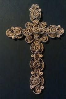 this using toilet paper rolls more toliet paper roll crafts diy crafts Toilet Paper Roll Art, Toilet Paper Roll Crafts, Cardboard Crafts, Quilled Creations, Christian Crafts, Cross Art, Cross Crafts, Music Decor, Paper Quilling