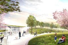 Sylvan Grove: A New Center Stage WEISS/MANFREDI & OLIN by WEISS/MANFREDI , via Behance