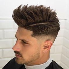 Haircut by javi_thebarber_ http://ift.tt/261HIR3 #menshair #menshairstyles #menshaircuts #hairstylesformen #coolhaircuts #coolhairstyles #haircuts #hairstyles #barbers