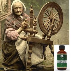 back when this picture was created, most people didn't know about Tea Tree Oil...   https://twitter.com/davesnape/status/556175122919587841/photo/1