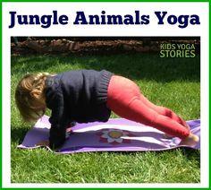 jungle animal yoga 2
