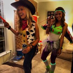 18 Cute and Unique DIY Halloween Costumes For Best Friends Everyone Will Love                                                                                                                                                                                 More