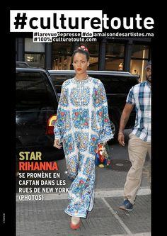 Culturetoute71  Nous sommes le Mardi 31 Mai 2016 !  ➡ En couverture, RHANNA se promène en caftan dans les rues de New York  ➡ A lire,…