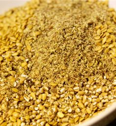 Fourth Ingredient - Organic Golden Flaxseed -  another great Superfood with tons of health benefits. Flaxseed helps reduce inflammation, helps protect heart and blood vessels, reduces cholesterol, helps menopause and andropause symptoms, helps constipation, helps digestion, helps immune function, helps depression, fights cancer, fights heart disease, and helps fight diabetes.