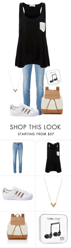 """""""Simple Outfit"""" by dream-a-wish ❤ liked on Polyvore featuring Givenchy, Solid & Striped, adidas, Louis Vuitton, Barneys New York and Yves Saint Laurent"""