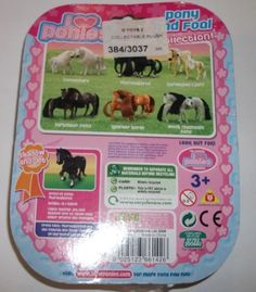 I Love Ponies - Pony and Foal set - Shadow & Jet the Thoroughbreds