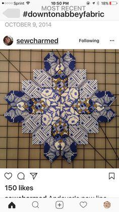 Millefiori Quilts, English Paper Piecing, Downton Abbey, Square Quilt, Crosses, Container Gardening, Quilt Blocks, Squares, Boston