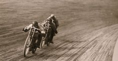 The Vintagent: BOARD TRACK RACING ON FILM