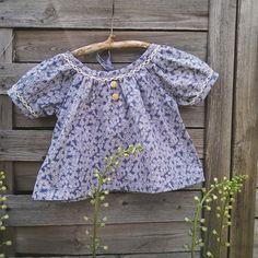 Schnittmuster Bluse/Kleid Elle Gr. 74-104 www.emmyloumakes.com
