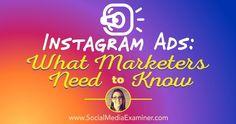 Thinking about creating #Instagram ads? #SocialMediaMarketing #B2B