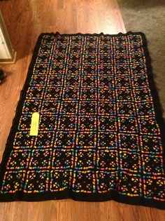 It took me a year to crochet this blanket. It  won 5th  at the Minnesota State fair 2012 this blanket is for sale at $350.00